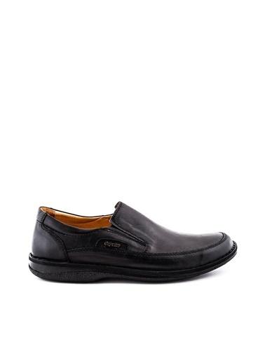 Dr.Flexer 816612 HakıkıDerıErkek Comfort Büyük Numaralı Ayakkabı Sıyah Siyah